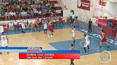 São José estreou no Campeonato Paulista de basquete - Foi o reencontro de dois amigos de deram muita alegria ao time.