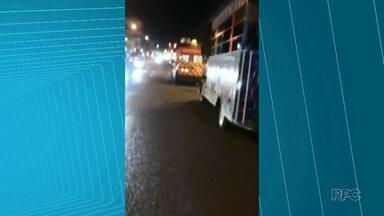 Homem morre atropela por trem de passeio em Prudentópolis - Motorista do veículo contou à polícia que passageiro subiu de surpresa e desceu com o trem em movimento.