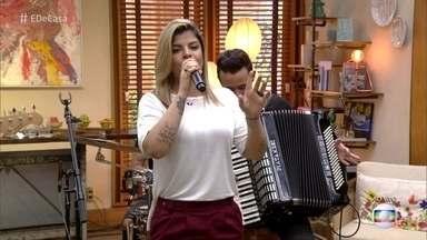 Paula Mattos canta 'Que sorte a nossa' - Cantora se considera uma ´'sertaneja mais pop'