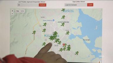 Aplicativo facilita pedidos de socorro e acelera atendimento de socorristas em Joinville - Aplicativo facilita pedidos de socorro e acelera atendimento de socorristas em Joinville