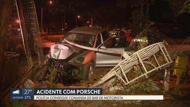 Polícia pega comanda de consumo de motorista suspeita de estar dirigindo carro em acidente - O caso foi na 708 Sul na quarta-feira passada