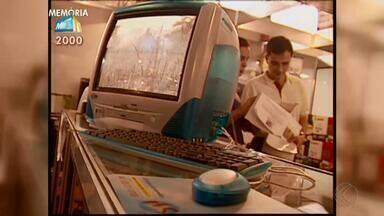 Memória MGTV: Feira de Informática mostra a era digital no ano 2000 em Juiz de Fora - Reportagem de Ricardo Reis e Abiacyr Bezerra traz a evolução da tecnologia na cidade.