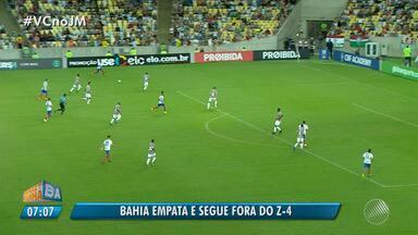 Bahia empata com o Fluminense no Brasileirão - Veja os destaques do jogo que terminou com o placar de 1 x 1.