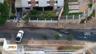 Vídeo mostra casos de desperdício de água em Goiânia - Saneago alerta para o risco de racionamento.