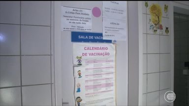 Procura por vacina é baixa em Teresina e Piauí é o 3ª pior em cobertura vacinal - Procura por vacina é baixa em Teresina e o Piauí é o 3ª pior em cobertura vacinal