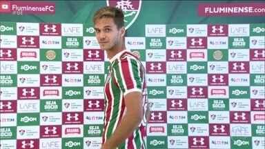 Fluminense apresenta o zagueiro Paulo Ricardo - Fluminense apresenta o zagueiro Paulo Ricardo