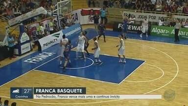 Franca Basquete vence a Liga Sorocabana e continua invicto no Campeonato Paulista - Jogo no Ginásio Pedrocão terminou em 63x51.