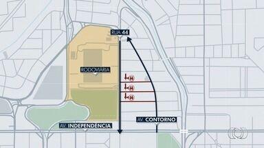Confira mudanças na região da Rua 44 em Goiânia - Sentidos de algumas ruas devem ser alterados.