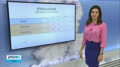 Confira a previsão do tempo para esta sexta-feira (10) no Sul de Minas - Confira a previsão do tempo para esta sexta-feira (10) no Sul de Minas