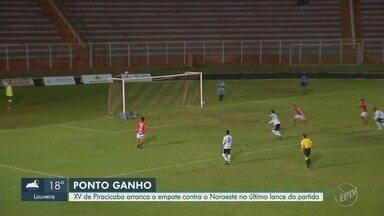 XV de Piracicaba conquista empate contra o Noroeste pela Copa Paulista - A próxima partida do XV será contra o Desportivo Brasil.