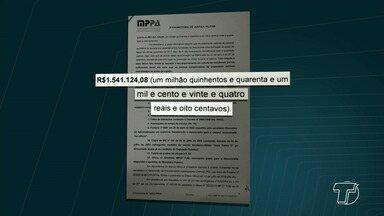 MP denuncia candidato do Democratas ao Governo do Pará - O candidato Márcio Miranda foi denunciado por receber aposentadoria integral de forma irregular.