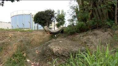 Estações de tratamento em bairros de Linhares, ES, apresentam falhas - Projeto é tratar 100% do esgoto em Linhares, mas algumas medidas não estão sendo tomadas como deveria.