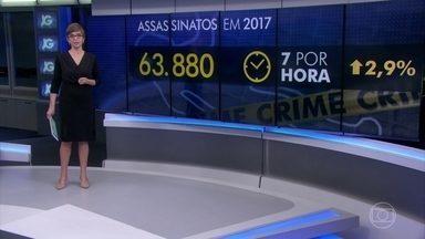 Brasil bate recorde de mortes violentas em 2017 - Números são do Fórum Brasileiro de Segurança Pública