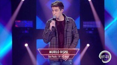 Cantor de Lorena participa do The Voice - Ele entrou para o time de Teló.