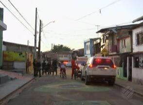 Triplo homicídio no bairro do Castanheira assustou os moradores do local - A polícia vai analisar imagens de câmeras de segurança para tentar identificar os atiradores.