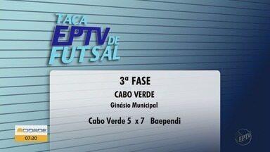 Veja os resultados dos jogos na Taça EPTV de Futsal - Veja os resultados dos jogos na Taça EPTV de Futsal