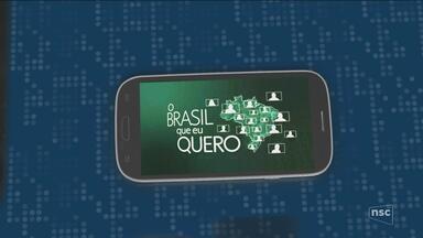 Grave um vídeo pelo celular dizendo que Brasil você quer para o futuro - Grave um vídeo pelo celular dizendo que Brasil você quer para o futuro