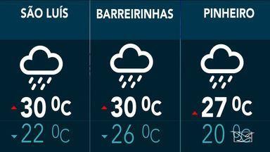 Veja a previsão do tempo nesta sexta-feira (10) no MA - Confira como deve ficar o tempo e a temperatura em São Luís e no Maranhão.