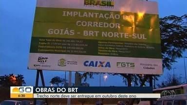 População de Goiânia espera por construção do BRT desde 2015 - Obras estão marcadas por processos de interrupção.