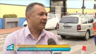 Agentes da Etufor realizam fiscalização de transportes escolares - Saiba mais em g1.com.br/ce