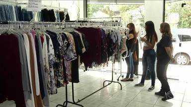 Comerciantes participam de evento de moda em Resende, RJ - Setor tem registrado crescimento na região.