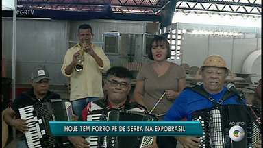 Turma de Sanfoneiros anima públcio da Feira Expo Brasil, em Petrolina - O evento segue até o domingo (12).
