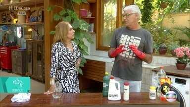 É de Casa Sem Armadilhas: Veja a forma mais segura de lidar com produtos de limpeza - Especialista fala dos perigos com produtos de limpeza em casa