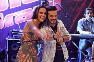 Daniel Lopes e Júlia Dantas participam de pocket show The Voice Brasil em Fortaleza - undefined