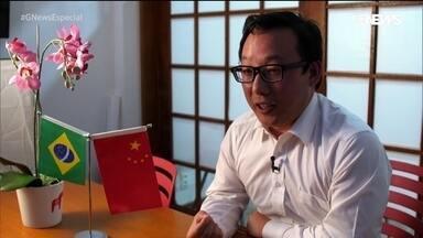 Negócio da China no Brasil