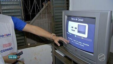 Falta um dia para o desligamento do sinal analógico em Campo Grande e Terenos - Quem tiver televisor de tubo sem conversor digital vai ficar sem assistir à programação da televisão.