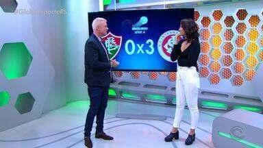 Maurício Saraiva comenta vitória do Inter sobre o Fluminense - Assista ao vídeo.