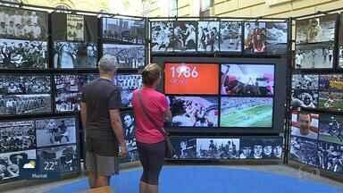 Belo Horizonte sedia mostra itinerante do Museu do Futebol até dia 15 de outubro - Parte do acervo é dedicada aos mineiros e pode ser vista no Centro Cultural Banco do Brasil (CCBB).