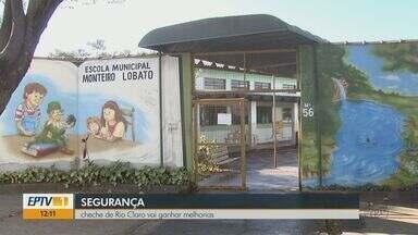 Creche de Rio Claro furtada sete vezes recebe reforma para aumentar segurança - Escola Municipal 'Monteiro Lobato' vai ter cerca em muro e iluminação reforçada.