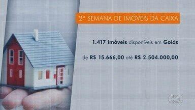 Semana de Imóveis da Caixa oferece 1,4 mil casas e apartamentos a venda, em Goiás - Evento acontece na agência da Caixa Econômica Federal da Avenida Rio Verde até o dia 18 de agosto.