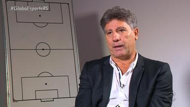 Renato fala de relação com o Grêmio e Flamengo em dia de decisão - O treinador foi ídolo dos dois clubes ainda como jogador, nesta quarta-feira (15) tenta levar o tricolor para a semifinal da Copa do Brasil.
