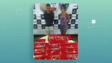 Casal suspeito de roubar carro com quase R$ 30 mil em jóias é preso - Ambos foram capturados nesta terça-feira (14) na Zona Norte da capital.