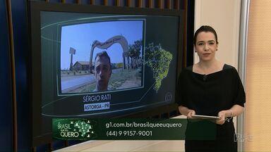 Que Brasil você quer para o futuro? Veja como mandar o seu vídeo - Confira quais cidades não enviaram vídeos.