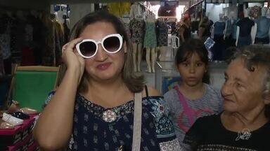 Feriado foi ponto facultativo no comércio de Fortaleza e muitos lojistas não abriram - Saiba mais no G1.com.br/CE