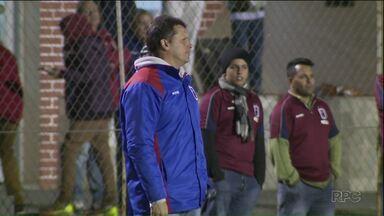 Claudinei Oliveira é o técnico do Paraná Clube - Ele já deve dirigir a equipe na próxima rodada do Brasileirão.