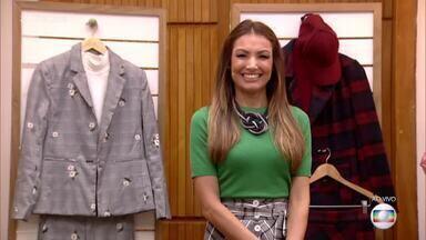 Consultora de moda dá dicas para usar roupa xadrez - Confira