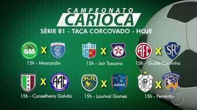 Confira os jogos desta quarta da Taça Corcovado - Assista a seguir.