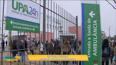 Pacientes já podem procurar atendimento na UPA Cidade Industrial - A unidade foi reaberta depois de 2 anos fechada