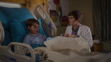 0,3% - Shaun se afeiçoa a um paciente que se parece com seu irmão e teme que ele não tenha sido diagnosticado corretamente.