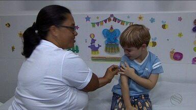 Dia D de vacinação movimentou os postos de Sergipe - Público procurou a vacinação contra poliomielite e sarampo.