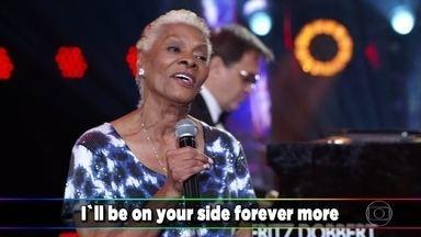 Dionne Warwick encanta a todos com 'That's What Friends Are For' - Plateia e participantes reverenciam a premiada cantora e sua neta, Cheyenne Elliott