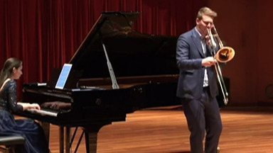 Ingressos para concerto da Orquestra Jovem de Mogi são vendidos - Trombonista italiano vai tocar com jovens mogianos.