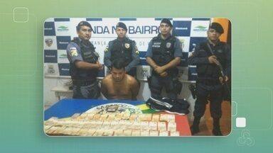 Polícia prende suspeito de participação em assalto de embarcação no Sul do Amazonas - Suspeito foi preso em hotel da cidade de Manicoré.
