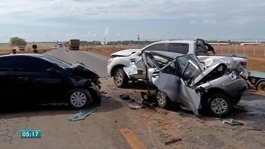 Final de semana com graves acidentes na região de Sinop - Final de semana com graves acidentes na região de Sinop