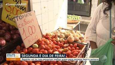 BMD vai à feira: confira os preços dos produtos da cesta básica - A reportagem foi à feira mostrar as novidades; confira.