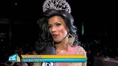 Transformista cearense é eleita a Miss Brasil Gay de 2018 - Saiba mais em g1.com.br/ce